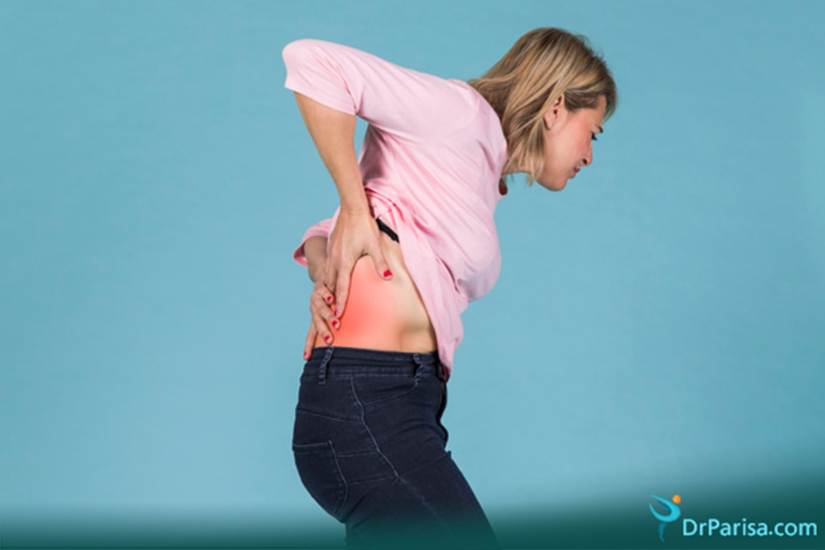 کمردرد به علت پوکی استخوان
