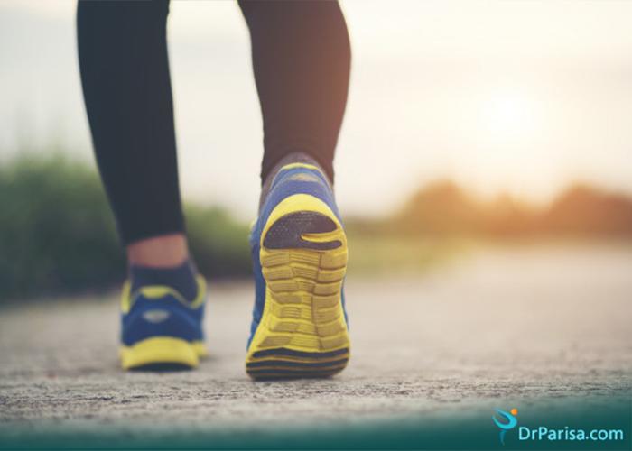 پیاده روی و زانو درد