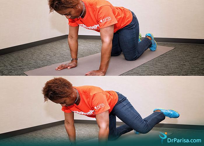 ورزش های زانو درد