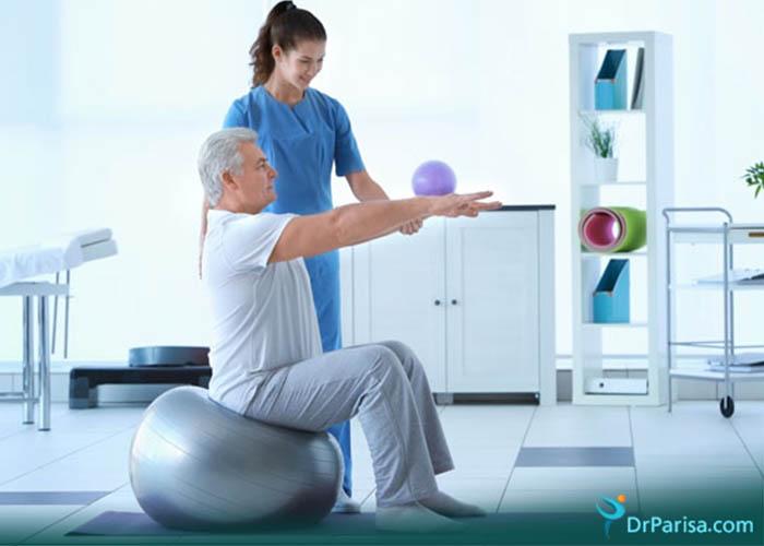 فیزیوتراپی برای بهبود ضعف عضلانی