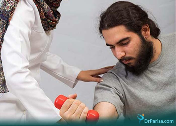 ورزش درمانی دردهای آرنج