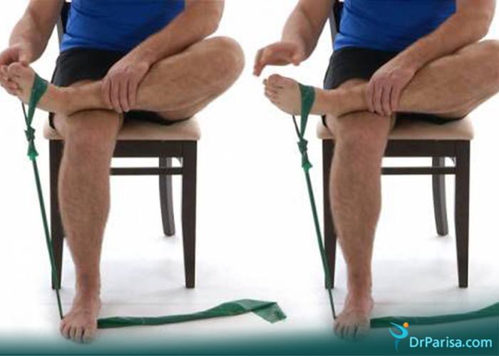 ورزش برای صافی کف پا