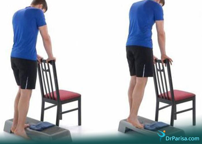 ورزش صافی کف پا